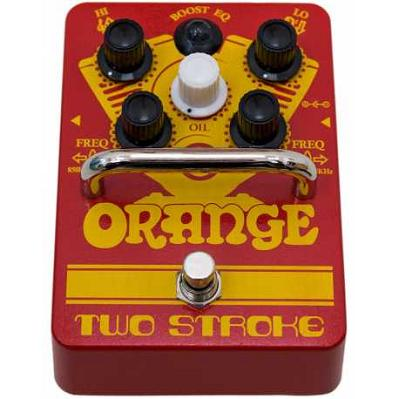 ORANGE Pedal booster TWO STROKE.