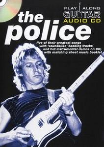 POLICE PLAY ALONG GUITAR AUDIO CD + BOOK TAB
