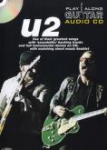 U2 PLAY ALONG GUITAR AUDIO CD + BOOK TAB