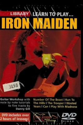 IRON MAIDEN LEARN TO PLAY...+ DVD